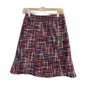 3/$25 Chadwicks Multicolor Flare Skirt